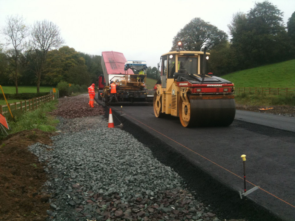 Monaghan To Emyvale Resurfacing