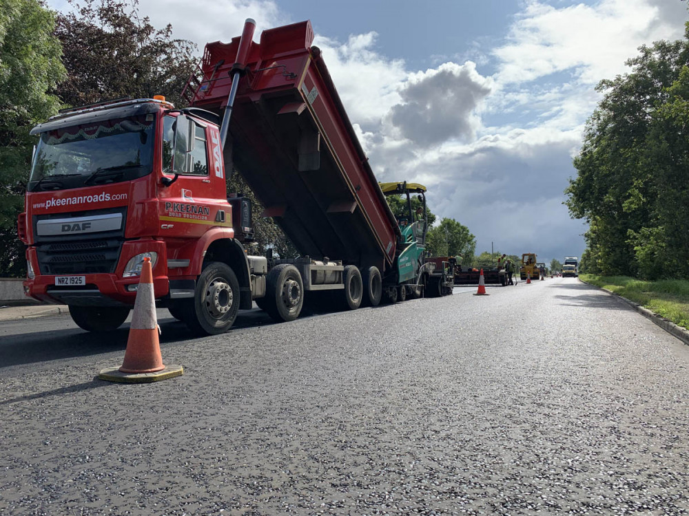 P Keenan Broad Road Coleraine Surfacing Project